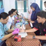 Unit Kegiatan Mahasiswa (UKM) Garda Kedisiplinan adakan Donor Darah.