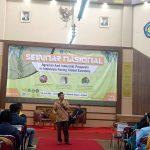 Adakan Seminar Nasional, HMJ Ekbis datangkan Ketua Serikat Petani Indonesia