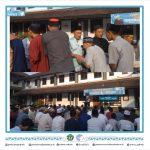 (11/08/19) Direktur Polinela Hadiri Sholat Idul Adha Bersama.