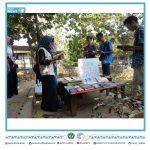 (09/09/19) Meningkatkan minat membaca, beberapa Mahasiswa Polinela membuka Lapak Baca Gratis.