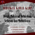 Kronologi Penangkapan Nelayan Kodingareng dan tiga orang anggota pers mahasiswa Makassar dan satu orang mahasiswa